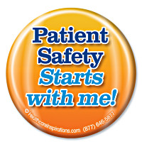 Patient Safety Starts with Me! Button