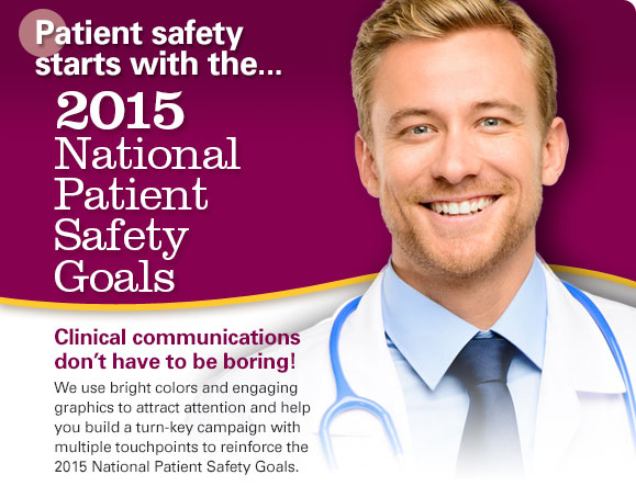 2015 National Patient Safety Goal Products