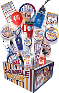 Infection Prevention Sampler Pack