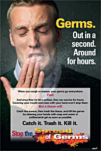 Catch it.  Trash it.  Kill it. Poster