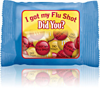 I got my Flu Shot, Did You? M&M® Snack Pack