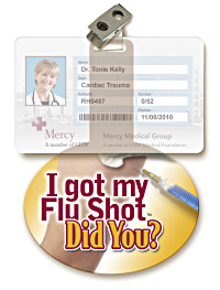 I got my Flu Shot, Did You? Peek-a-Boo™