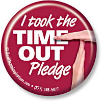 I took the TIME OUT Pledge