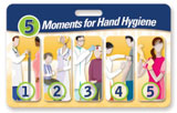 5 Moments for Hand Hygiene Badgie™ Card - Ambulatory Care