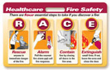 RACE/PASS Fire Safety Badgie Card
