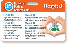 2015 Hospital Accreditation National Patient Safety Goals