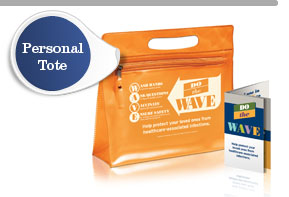 Wave Campaign Personal Tote
